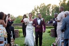 Outdoor Maryland Wedding Venue Sunset Photos Modern Ceremony From Black And Red