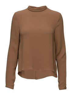DAY - 2ND Debra Concealed button closure Button cuffs Small point collar Classic Elegant Feminine Top Point Collar, Cuffs, Feminine, Closure, Button, Elegant, Sweatshirts, Day, Classic