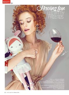 Makeup by Monica Panait for TABU Magazine Nov'14 issue