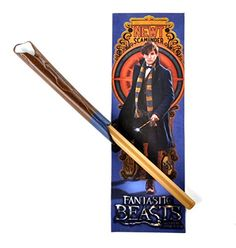 Fantastic Beasts and Where to Find Them  Newt Scamander Wand Pen And Bookmark Set