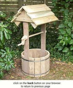 DIY Wooden Wishing Well Planters Free Plan DIY Tire Wishing Well Planters,  A Unique Way To Recycle Old Tires For Garden Decoration