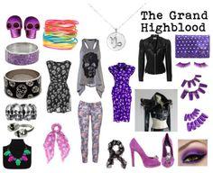 The Grand Highblood modern cosplay stuff.