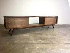 The G3 a mid century modern TV console TV stand TV by MonkeHaus