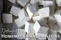 Awesome homemade marshmallow recipe