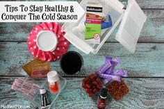 Tips To Stay Healthy & Conquer The Cold Season -Since doing this we have rarely gotten sick! #HealthySavings #Shop