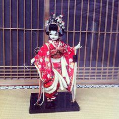a doll  人形 #京都 - @Veronique Sans Kato- #webstagram