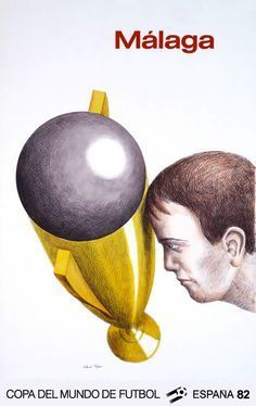 Antonio Saura / Roland Topor - World Cup Spain: Sevilla + Málaga – 1982 - Catawiki