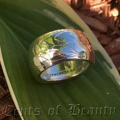 NEW Coin Ring 1971 UN Peace Medal Sterling Silver by CentsofBeauty