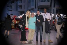The Team in Cannes.
