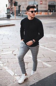 52 Fashionable Dressy Pants Outfits Ideas For Summer Mens Fashion Wear, Fashion Outfits, Men's Fashion, Mens Fashion Blog, Fashion Shirts, Grunge Outfits, Fashion Styles, Fashion Boots, Fashion Ideas