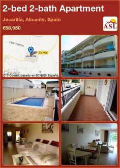 2-bed 2-bath Apartment in Jacarilla, Alicante, Spain ►€58,950 #PropertyForSaleInSpain