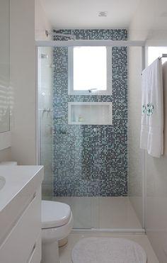 banheiro com pastilhas - Pesquisa Google