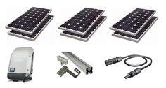 Kit de Energia Solar                                                                                                                                                                                 Mais