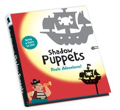 Shadow Puppets- Pirates from Mudpuppy