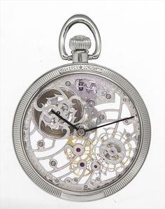 Vacheron Constantin Skeletonized Platinum Pocket Watch