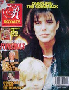 <!--0011-04-->Royalty Monthly magazine - Princess Caroline of Monaco cover (January 1992, Vol.11 No.4)