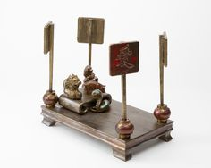 """""""Four Poster Bed - Homage to Ai Wei Wei"""" bronze, 6.5"""" x 10"""" x 9""""   EXHIBITION BOOK (including bio, artwork descriptions and prices) » https://www.sugarsync.com/pf/D7771278_2178774_6972504"""