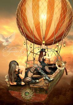 The Steampunkaneers by Elle Evans aka Ellyevans679 on Deviant Art