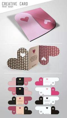 Unique DIY Heart Cards