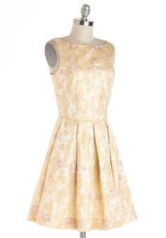 """ModCloth """"Classic Stunner Dress in Floral""""... I need this, lol"""