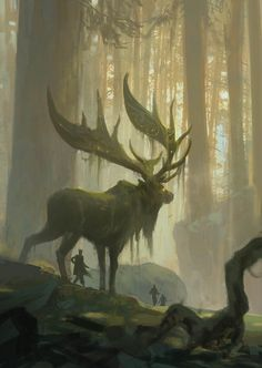 Forest Spirit II, Tuomas Korpi on ArtStation at…