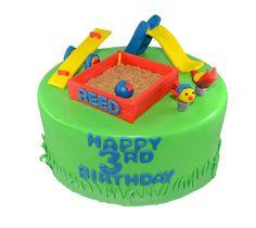 Park Playground theme cake