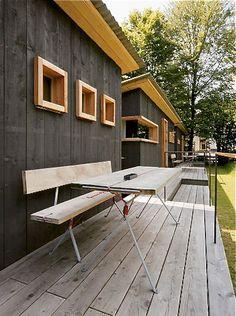 Hotel 'Berge' von Nils Holger Moormann in Aschau... via Designchen