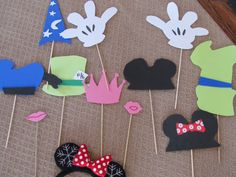 Free disney photo booth props
