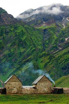 Mountain home, Iceland.