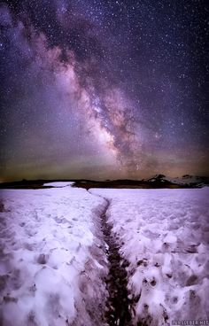 Starry winter's night --- by Lars Leber                                                                                                                                                                                 More