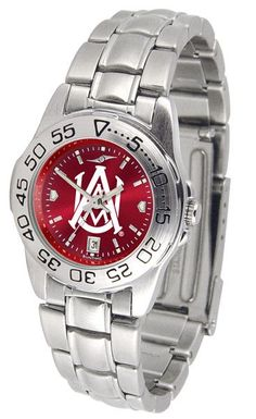 Alabama A&M Bulldogs Womens Sport Steel Anochrome Watch