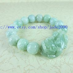 Free shipping  green jade jadeite buddha Lotus  flower by jade2090, $36.99