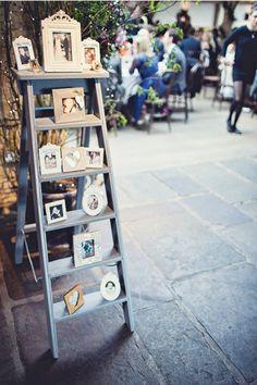 photo-display-vintage-wedding-decoration-ideas-with-ladders.jpg (600×901)