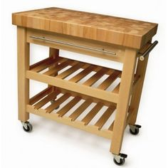 Eddingtons Butchers Block Trolley - The Leverton
