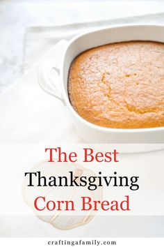 Simple sweet moist cornbread perfect side dish for any fall recipe. You can make the traditional recipe from scratch or cornbread quick Thanksgiving Dinner Recipes, Thanksgiving Sides, Chili On The Stove, Fall Recipes, Holiday Recipes, Moist Cornbread, Side Salad Recipes, Dinner Recipes Easy Quick, Recipe From Scratch