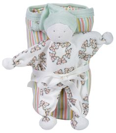 Organically Baby - Under The Nile Stroller Blanket Gift Set with Butterfly Striped Blanket and Doll, $31.95 (http://www.organicallybaby.com/under-the-nile-stroller-blanket-gift-set-with-butterfly-striped-blanket-and-doll/)
