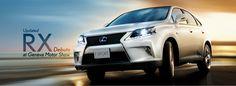 Lexus Introduces The Updated RX range at Geneva Motor Show