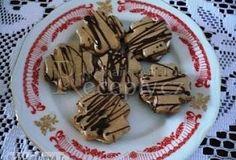 Vánoční kávové čtyřlístky Waffles, Almond, Low Carb, Candy, Cookies, Chocolate, Baking, Breakfast, Desserts