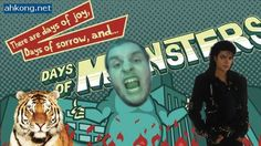 Monster Mash, Eye of the Tiger, AND Thriller!! | Days of Monsters | Part 8