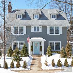 colonial house colors exterior | Home colonial exterior Design Ideas ...