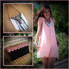 New statement necklace by e-creation! κωδικός/code: NLC_00185 /17e Clothes : Lora & Elen Photoshooting : Kostas Potamitis Model : Ioanna Morena Accessoires : e-creation.gr