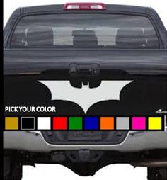 Hey, I found this really awesome Etsy listing at https://www.etsy.com/listing/242348655/batman-car-decal-dark-knight