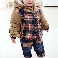 menino+é+com+o+inverno+grossa+de+algodão+acolchoado+roupas+terno+–+EUR+€+48.01