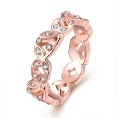 Hoy con el 64% de descuento. Llévalo por solo $9,100.Plateó el anillo R025 antialérgica libre de la nueva manera de la joyería del oro.