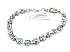Armband mit Swarovski Elements -Uni- Crystal Günstig