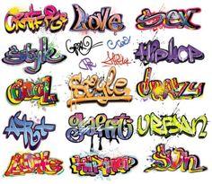 Graffiti lettering
