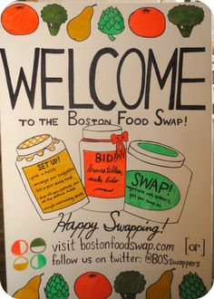 My First Food Swap Event | Random Recycling: Green Living for Modern Families