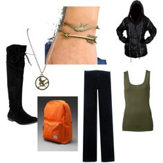 Hunger Games Outfit..want it...LOVE THIS BOOK