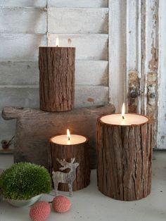 Nordic Bark Candles ItemPrice Qty 7.5x10cm [BR172]£8.95 7.5x15cm [BR173]£12.50 10x15cm [BR174]£19