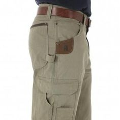 Wrangler Riggs Workwear Ripstop Ranger Pant, Brown